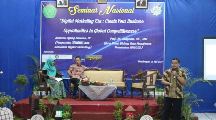 Pembicara Digital Marketing STIE Muhammadiyah Pekalongan