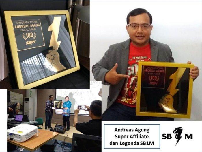 Pakar Digital Marketing Andreas Agung