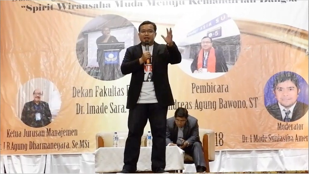 Pembicara Digital Marketing Andreas Agung