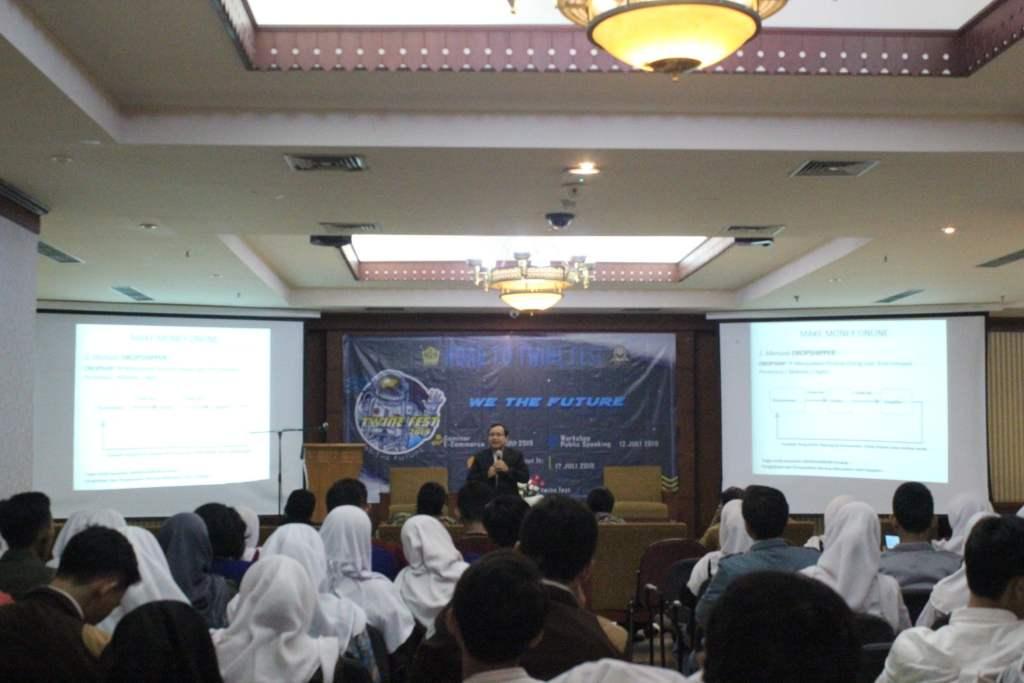 Pembicara E-Commerce SMAN 29 Jakarta