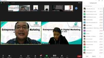 Webinar Digital Marketing dan Entrepreneurship PETRONAS