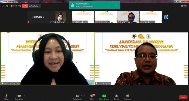 Webinar Digital Marketing Universitas Tanjungpura