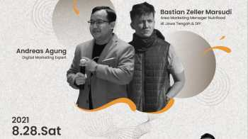 Pembicara Webinar Digital Marketing UGM Yogyakarta