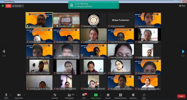 Pembicara Webinar Digital Marketing Univ Pendidikan Ganesha Bali