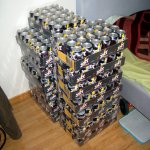 For a venture that did not end quite as expected a friend brought home a few cans of Jolt Cola.