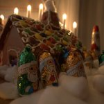 More chocolate and a gingerbread house!
