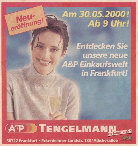 Frankfurt a.M. – Eckenheimer Landstraße – EÖ 30.05.2000