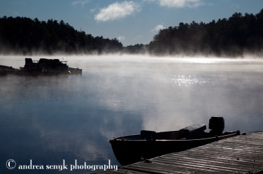 Boats and MIst