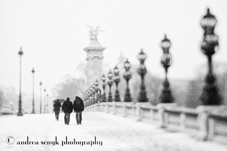 Snow in Paris 2