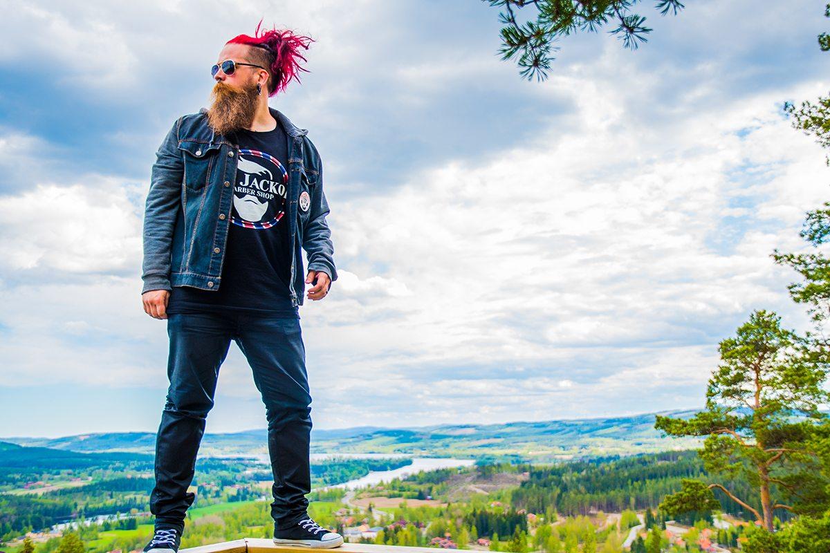 Andreas Fransson Author Beard Model Photographer Filmmaker Art Director Bearded Villains