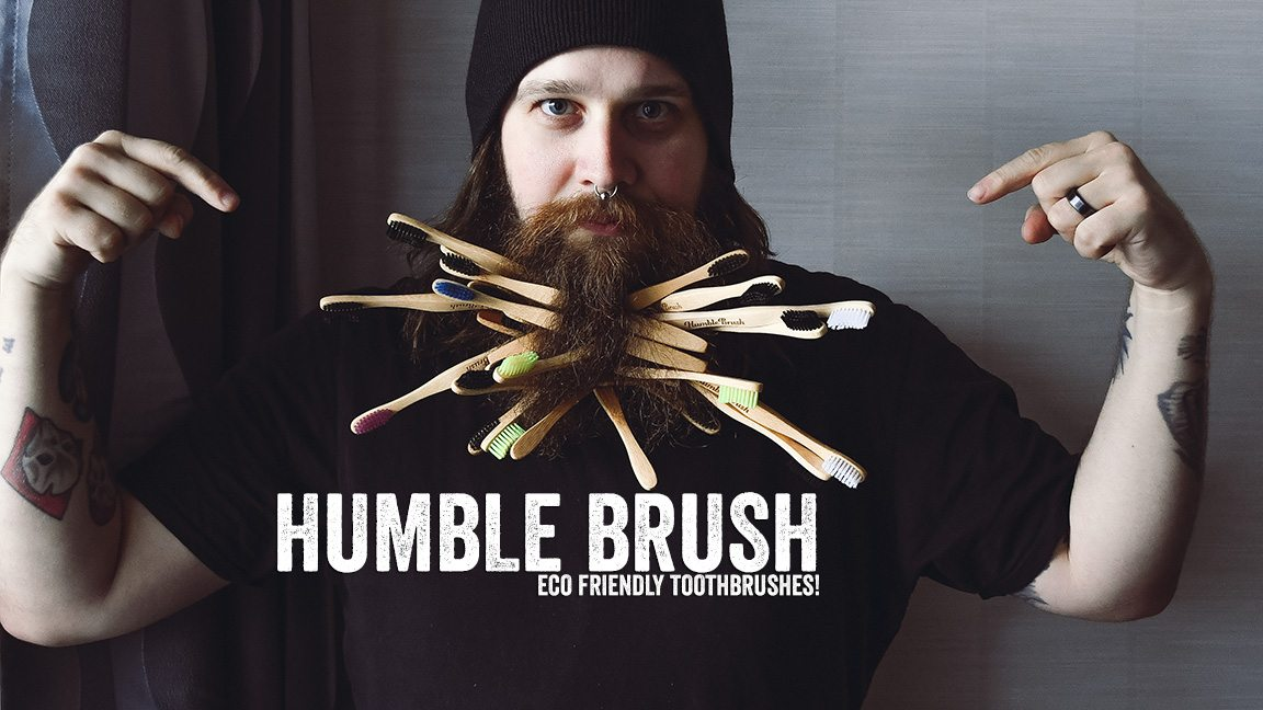 Humble Brush - my new favourite toothbrush for many reasons!
