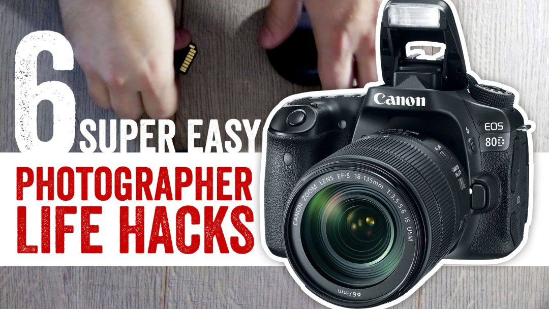 6 super easy Photographer life hacks in 120 seconds