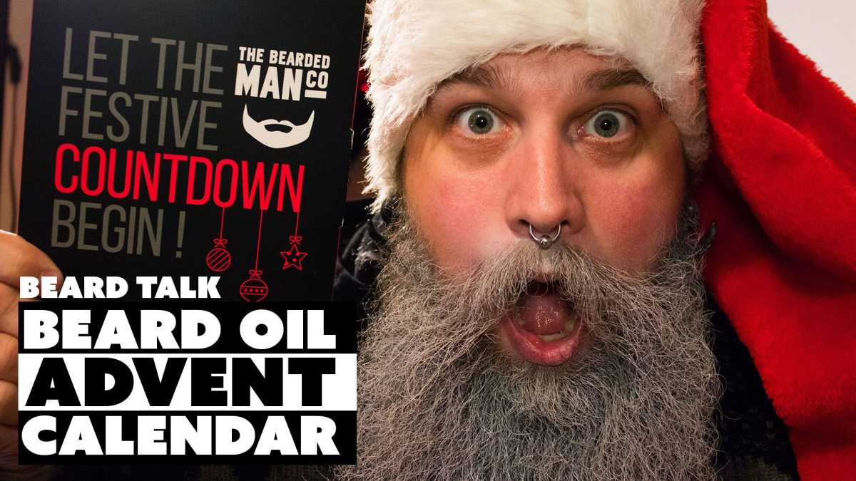 Beard Oil Advent Calendar from The Bearded Man Company
