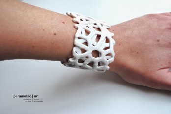 designed and 3dprinted by parametric|art