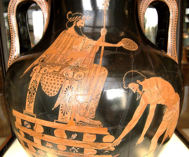 Croesus on the pyre