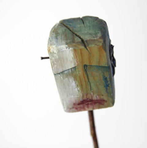 Sculpture. Wood and mixed media. 2006