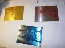 Radierplatten von Andreas Mattern