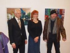 Bürgermeister Norbert Kopp, Susanne und ich