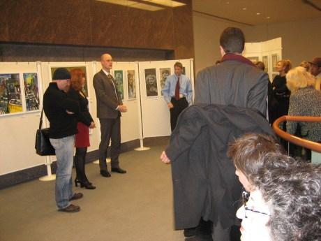 Ausstellungseröffnung German House Galery