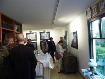 Ausstellungseröffnung Andreas Mattern in der Galerie Grahn 6.05.2012