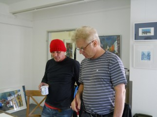 Malwoche bei Andreas Mattern 2012