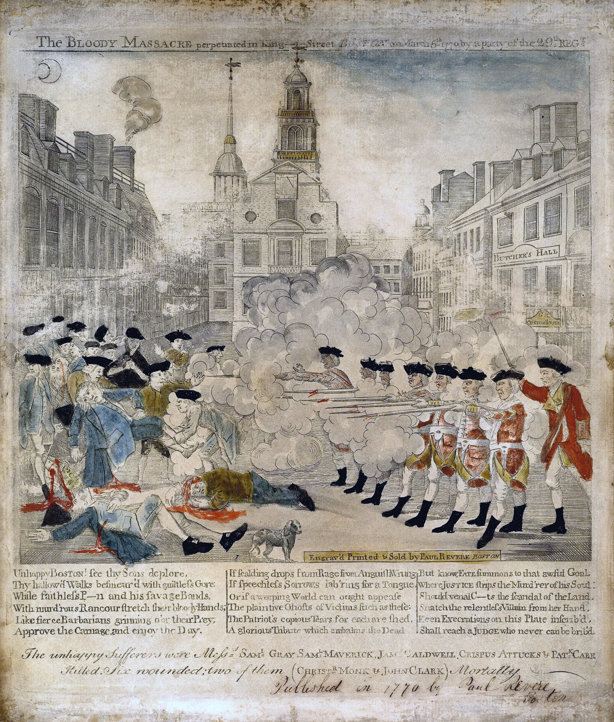 Who Is Responsible For The Boston Massacre