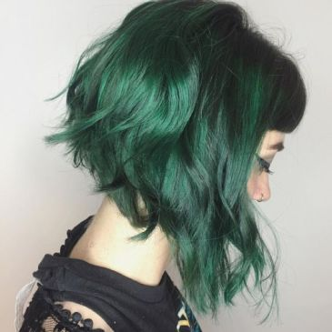 30 Green Hair Color Ideas