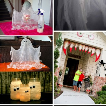 60+ Scary DIY Halloween Decorations