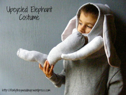 Elephant costume tutorial