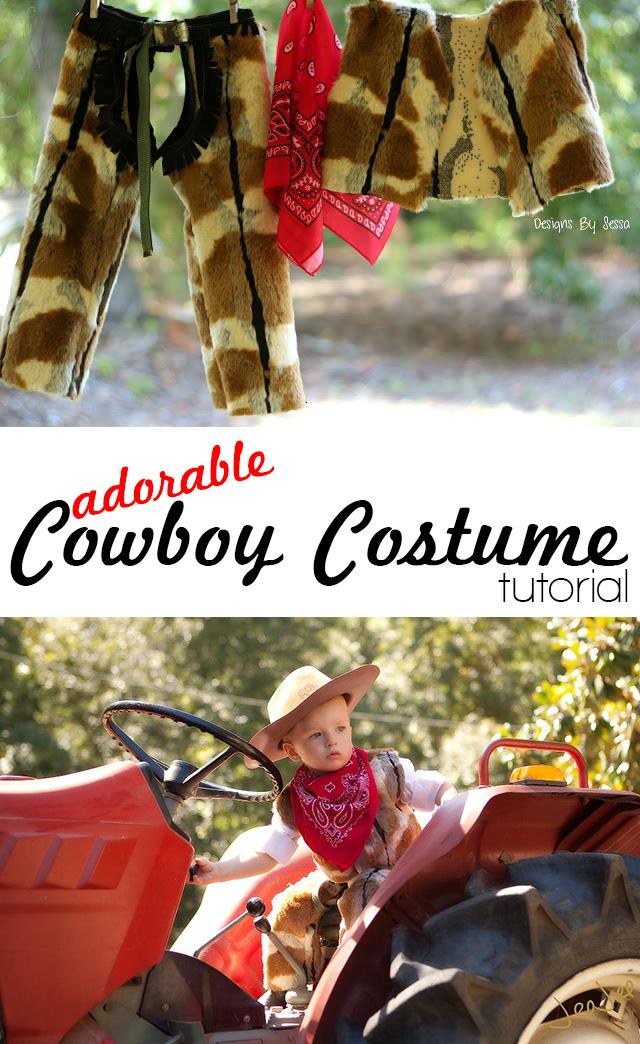 Adorable Cowboy Costume Tutorial