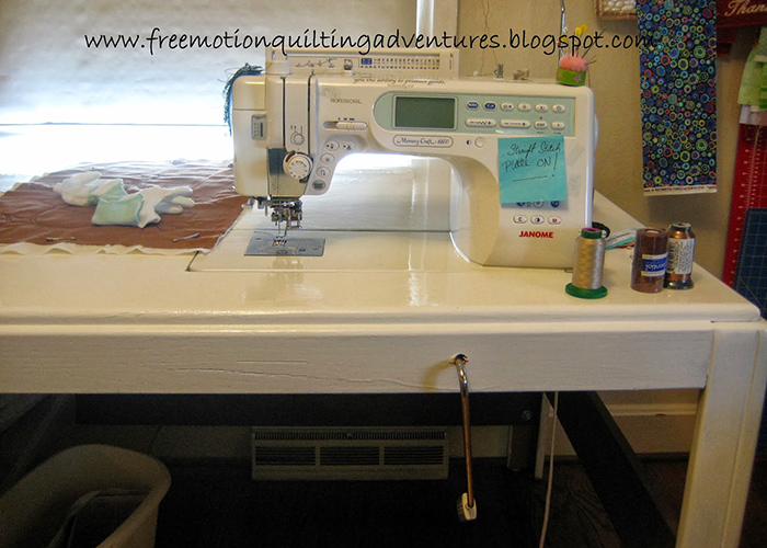 How to make your own sewing table