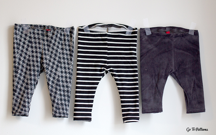 free baby leggings pattern and tutorial