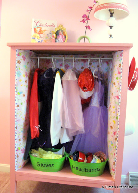 Fantastic dress up closet idea and TONS of other toy storage solutions