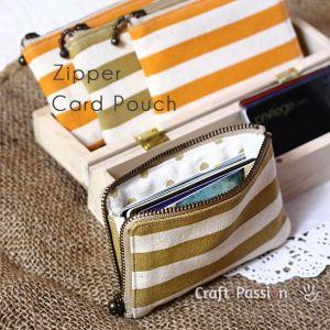 zippy card pouch