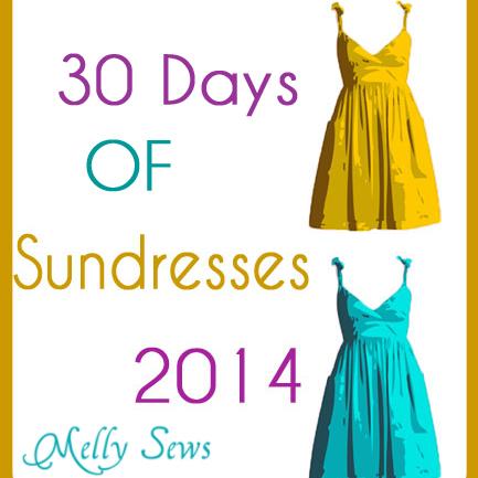 30 days of sundresses