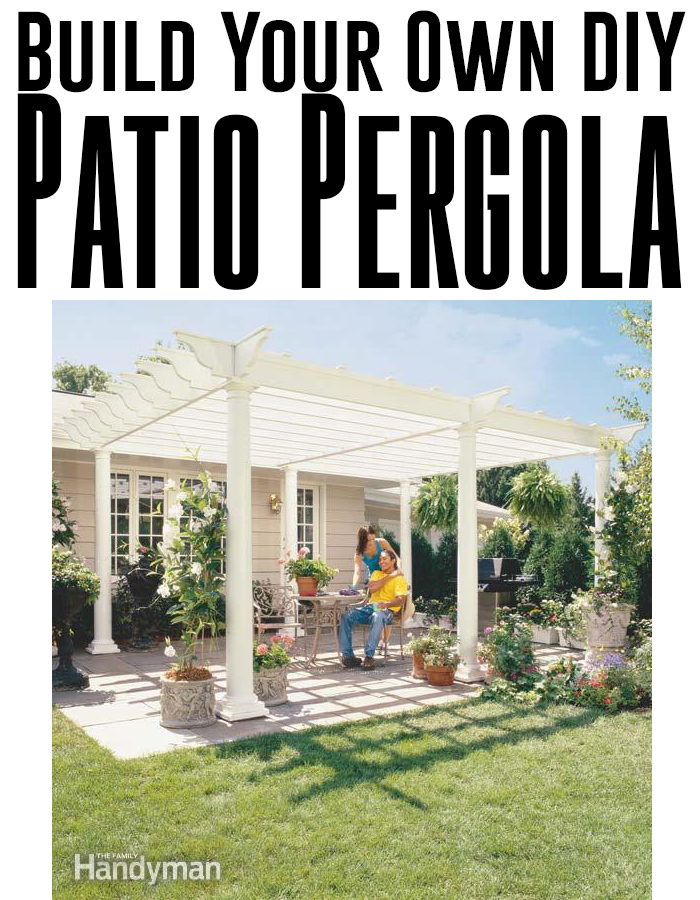How to build your own backyard DIY pergola