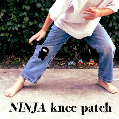 Tons of great knee patch ideas!