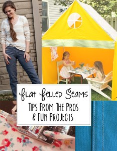 How to sew flat felled seams (and some tutorials to use them!)