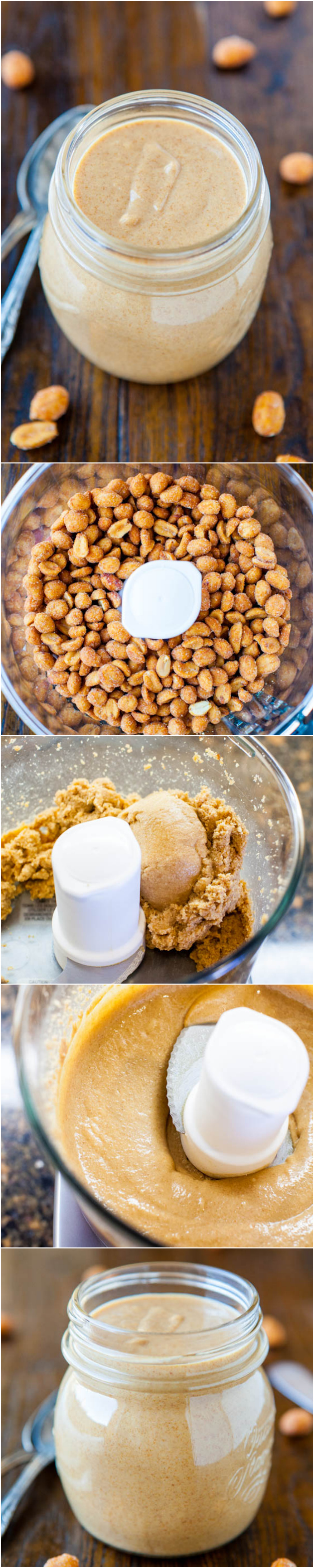 Make your own peanut butter