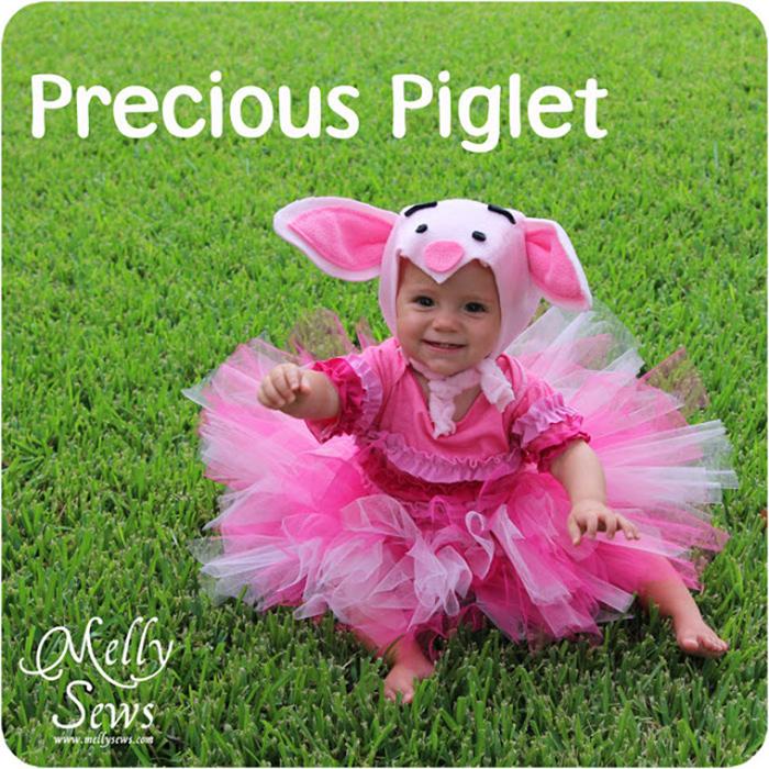 DIY piglet costume