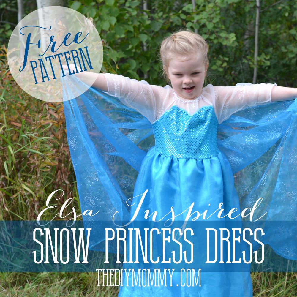free elsa dress pattern