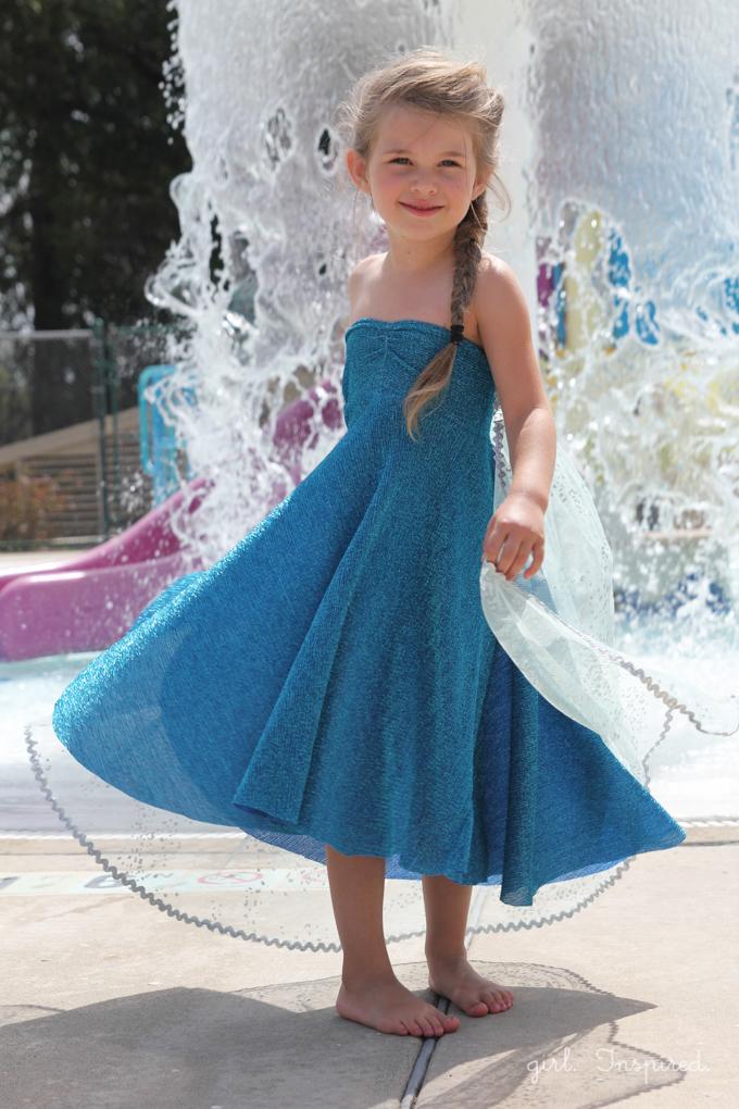 elsa dress tutorial frozen costume instructions