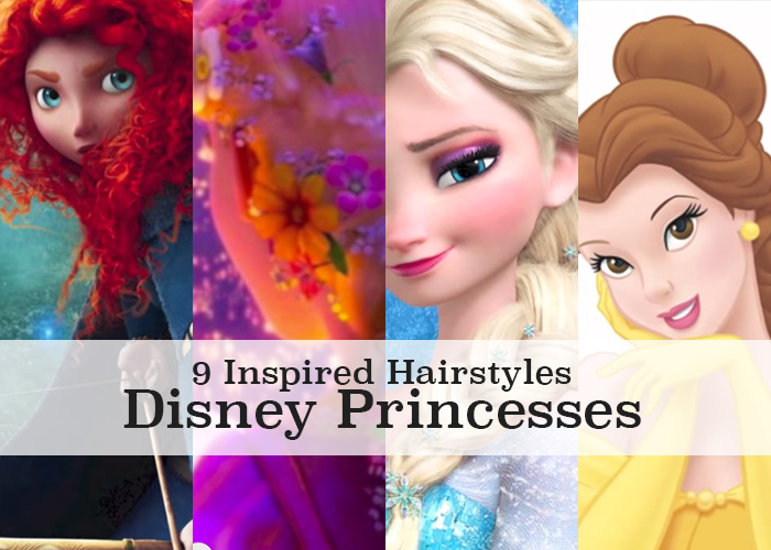 9 Disney princess hair tutorials