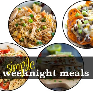 simple weeknight meals