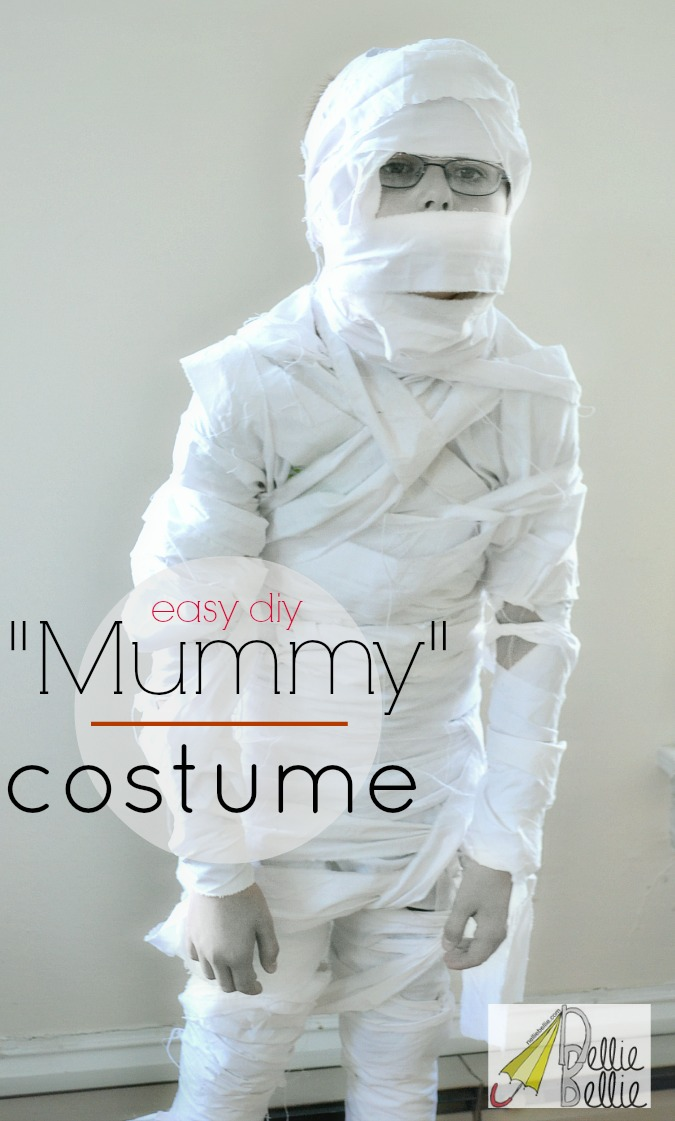 Great tips for a mummy costume!