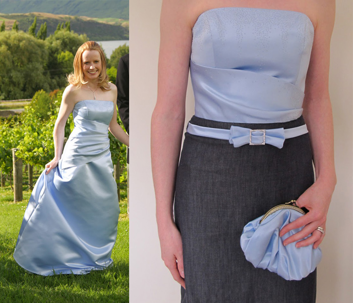 gorgeous formal dress refashion!