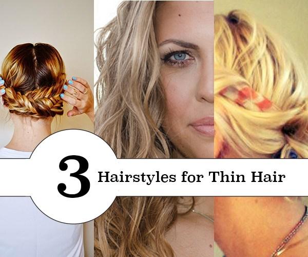 Great hair tutorials for thin or straight hair.