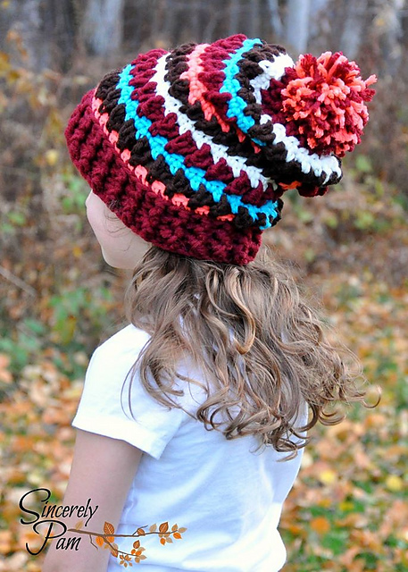 Adorable list of crochet hats for girls!