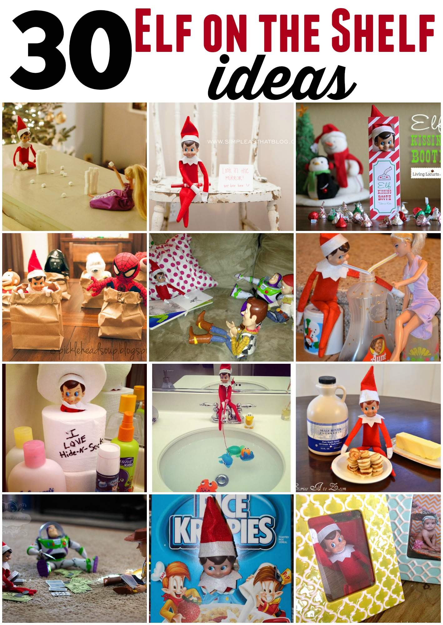 30 elf on the shelf ideas you will want to steal!