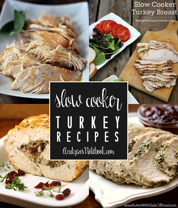 Mouth watering slow cooker turkey recipes you'll want to make! Get out the crock pot!